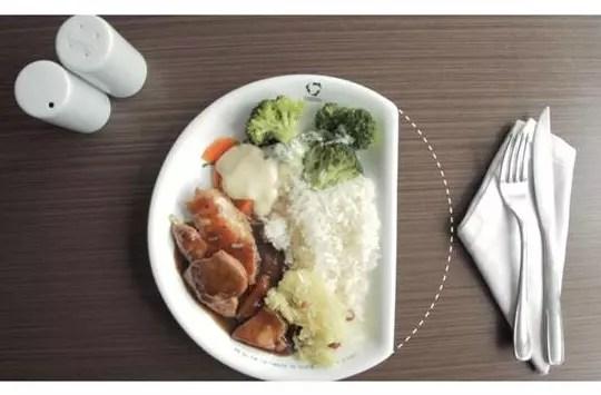 A campanha do prato menor foi feita a propósito do Dia da Alimentação, em outubro
