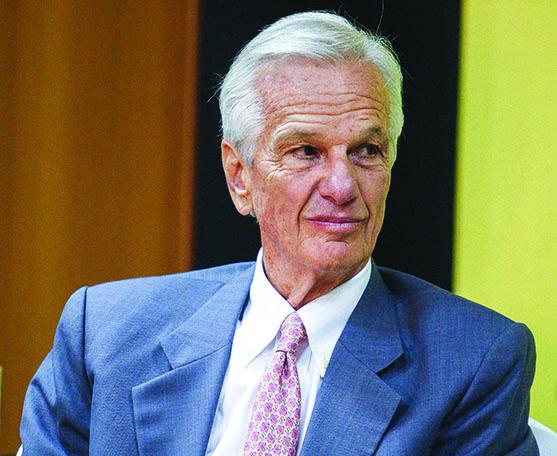 Jorge Paulo Lemann, 73 anos, é hoje o principal empresário brasileiro