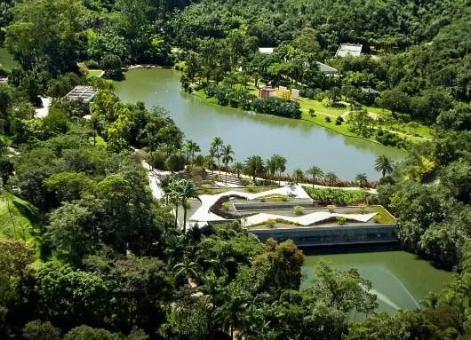 Museu-jardim botânico Inhotim, a 70 kms de BH