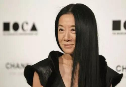 A estilista Vera Wang, aos 64 anos de idade