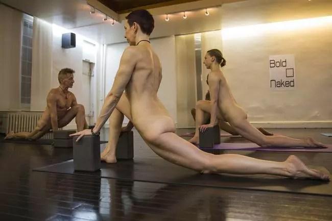 Será que sem roupa os exercícios são mais efeicazes?