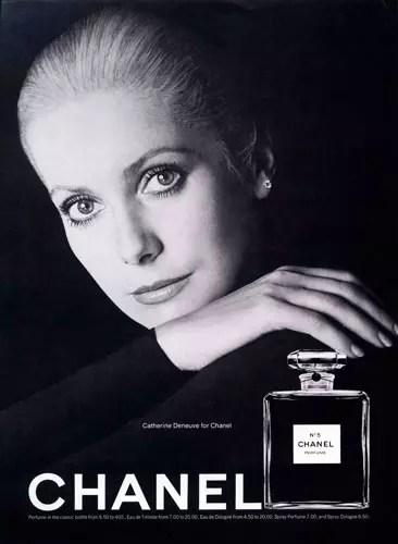 A francesa Catherine Deneuve