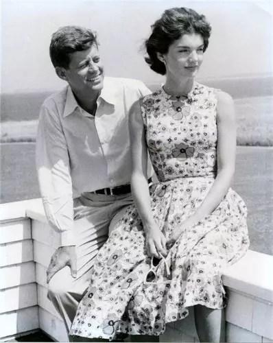 Com Kennedy, nos bons tempos
