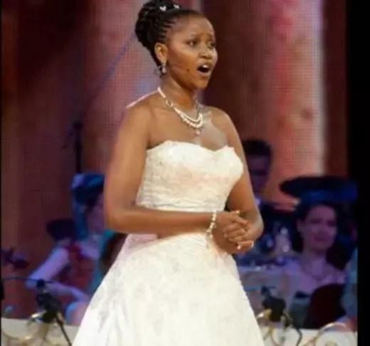 A soprano sul-africana foi descoberta pelo maestro hoandês André Rieu