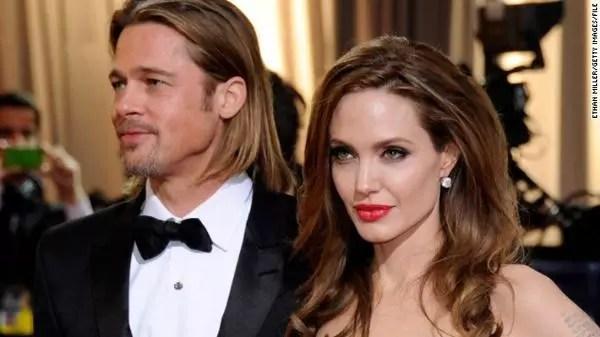 Brad Pitt, 51, e Angelina Jolie, 39, se casaram no sábado, dia 23