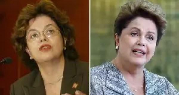 Dilma abandonou os óculos, mudou o corte e clareou os cabelos
