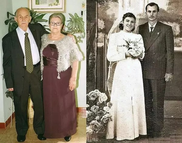 Desde que se casaram, nunca mais um ficou sem o outro