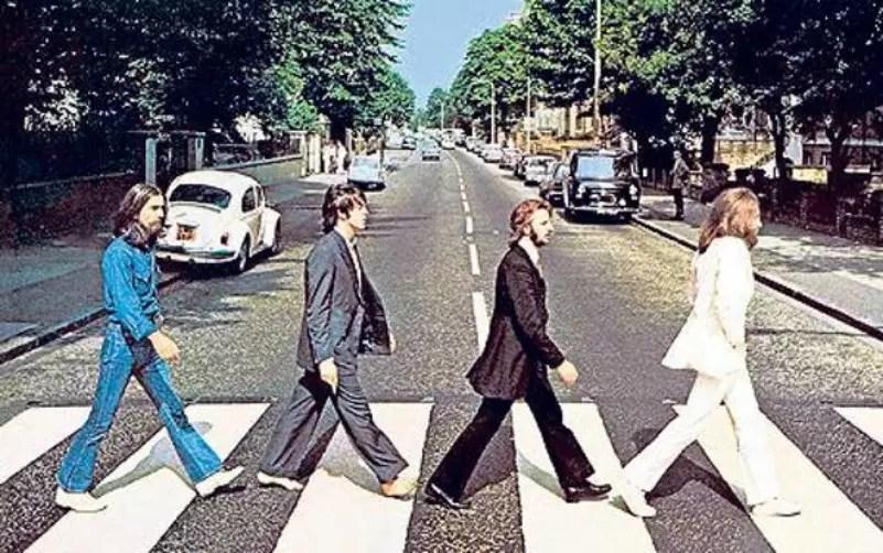 Os Beatles fizeram cinco tentativas até chegar a esta fotografia