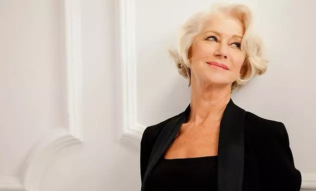 Helen Mirren, 69 anos - modelo da L'Oréal Paris Beauty