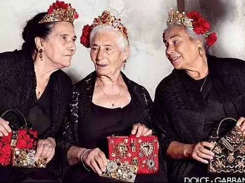 &Elas são as novas estrelas da grife italiana Dolce & Gabbana