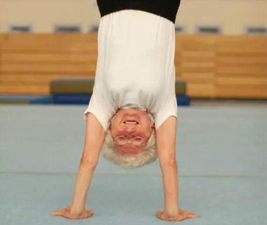 Johanna Quaas, 92, a atleta mais velha do mundo