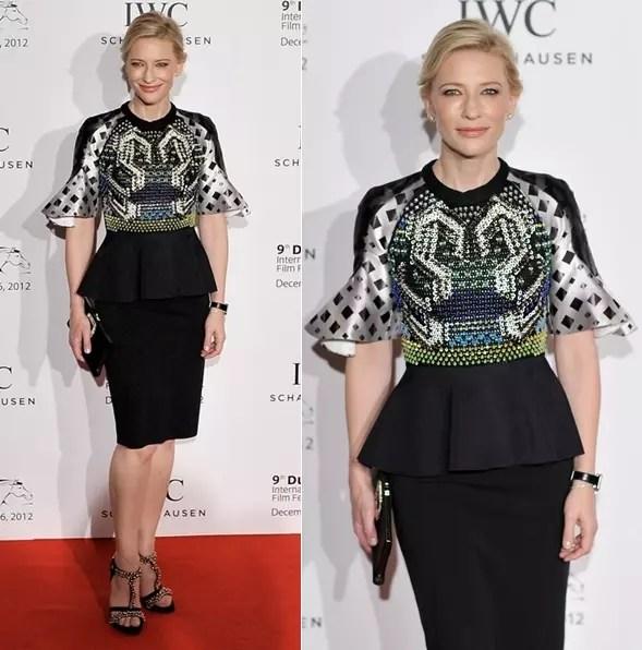 A atriz Cate Blanchet, 46 anos