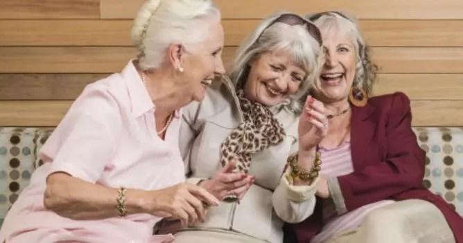 À medida que você envelhece pode ver humor em quase tudo