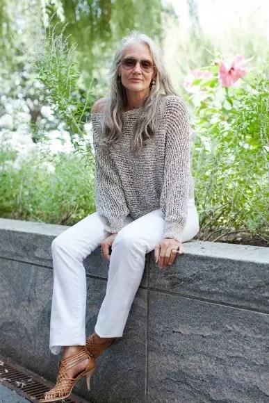 Cindy Joseph, 63, tornou-se modelo quando estava para completar 50 anos