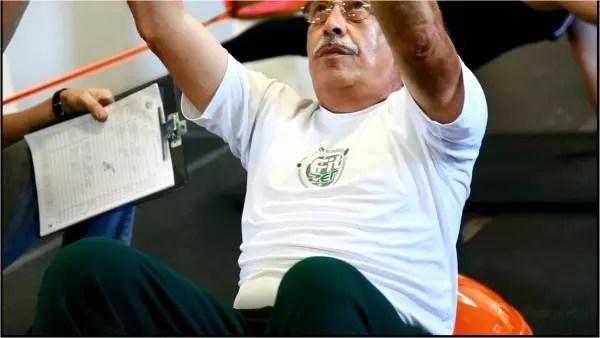 José Carlos Santana, 71: Eu me sinto outro, cheio de disposição, depois de cada sessão de Fitzen