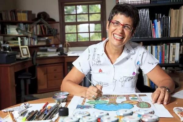 Marilda Castanha forma com Nelson uma família de artistas