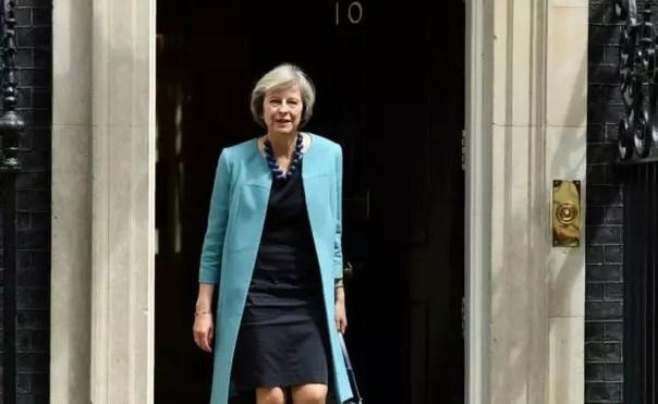 Theresa May. 59, ocupava até agora o cargo de Ministra do Interior