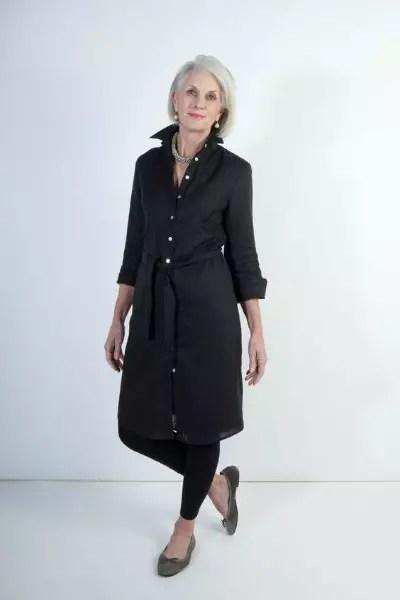 Este é um dos modelos que mais gosto. Ela é magra e alta, mas o vestido pode ser adaptado para alguém com mais peso