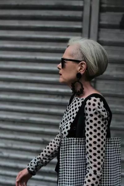 Lyn Slate, 61, criadora do blog Accidental Icon