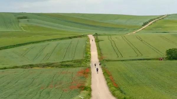 São 800 km percorridos anualmente por milhares de pessoas de todas as partes do mundo