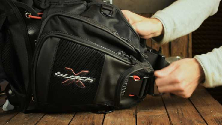 Weight pocket Scubapro X-Black