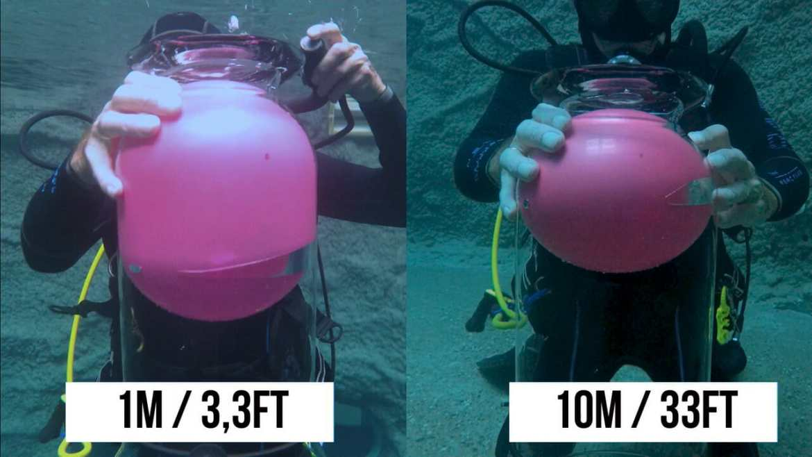 10m/1m | Why not to hold your breath while scuba dive