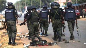 IGP Special Squad Arrest 9 Suspects and 6 youths Over The Destruction of Fulani Herdsmen Camp In Kwara Communities igp special squad - Mopol 300x168 - IGP Special Squad Arrest 9 Suspects and 6 youths Over The Destruction of Fulani Herdsmen Camp In Kwara Communities