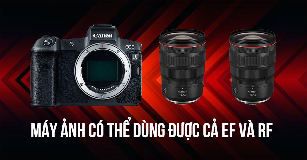 Canon sẽ có máy ảnh dùng cả lens ngàm EF & RF không cần ngàm chuyển   50mm Vietnam