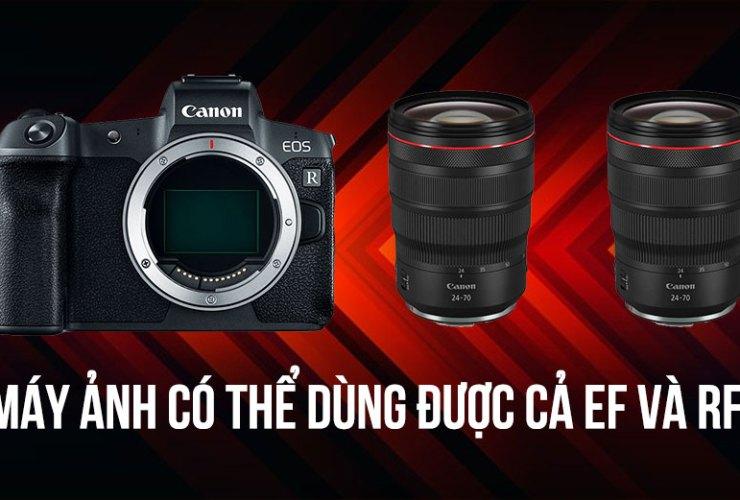 Canon sẽ có máy ảnh dùng cả lens ngàm EF & RF không cần ngàm chuyển | 50mm Vietnam