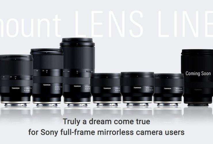 Tamron 24-105mm f/4 ngàm Sony E sắp ra mắt?