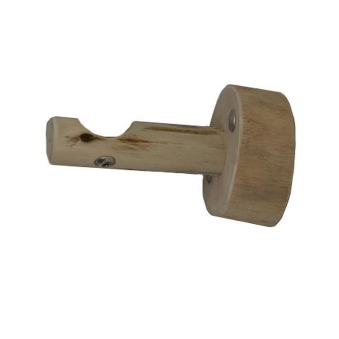 support tringle a rideaux bois flotte
