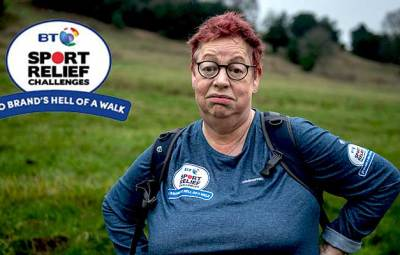 jo brand one hell of a walk