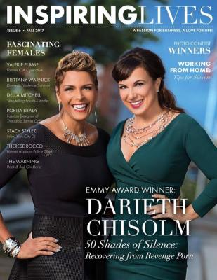 Darieth Chisolm Discusses 50 Shades of Silence in the Fall 2017 Issue of Inspiring Lives Magazine