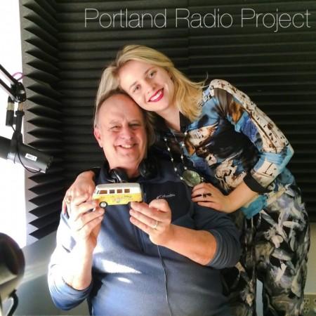 Robert Parish and Olya Surits at Portland Radio Project.
