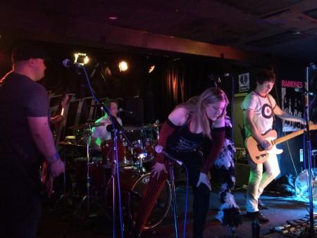 Cherry Bombz at the Beat Generator Live