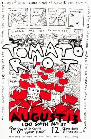 tomato riot