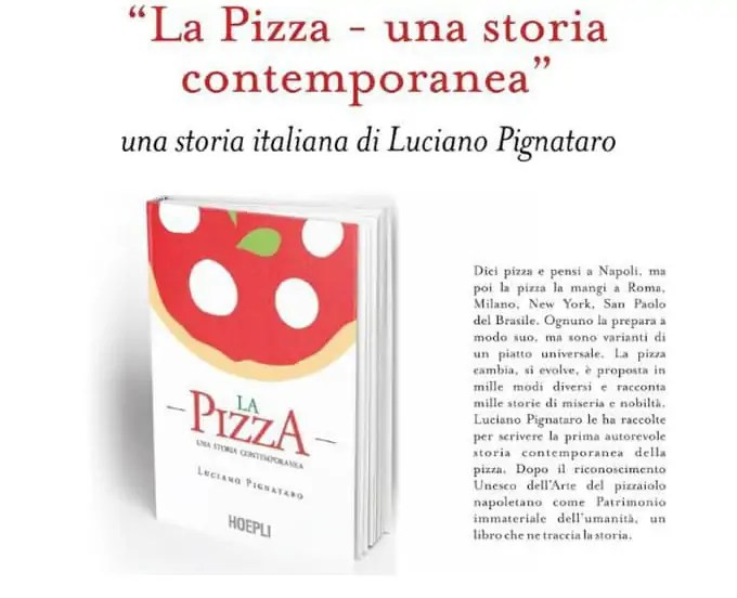 La Pizza - una storia contemporanea, di Luciano Pignataro