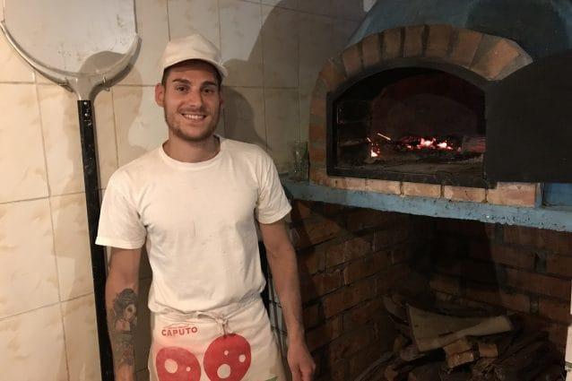 Carmine Esposito della Pizzeria Napoli