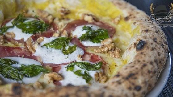La pizza Zafferina di Salvatore Lioniello