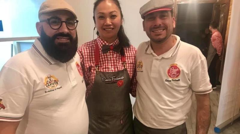 Pizza Diaz, Mario e Simone Fortunato