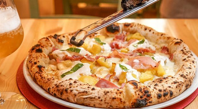 La pizza dei Fratelli Caponi