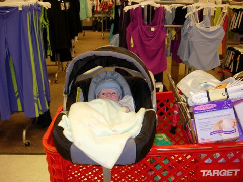 Tips for shopping at Albany Target with a baby
