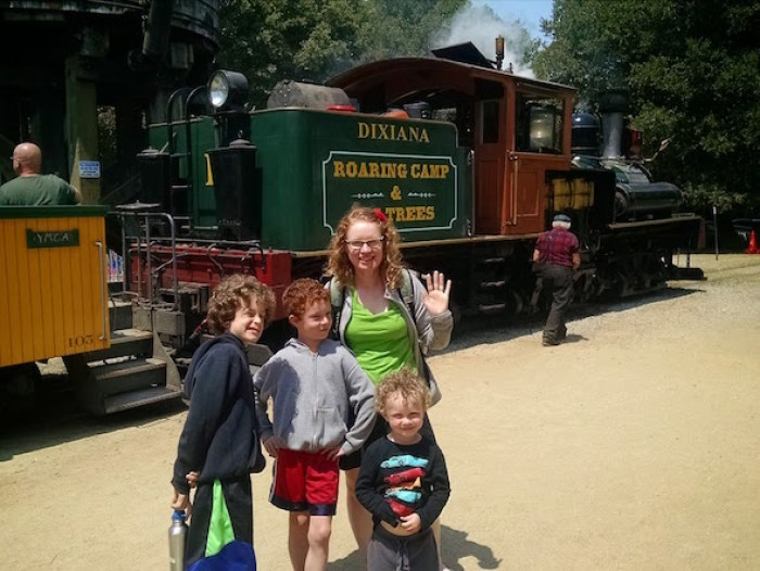 Roaring Camp Railroad in Felton, CA