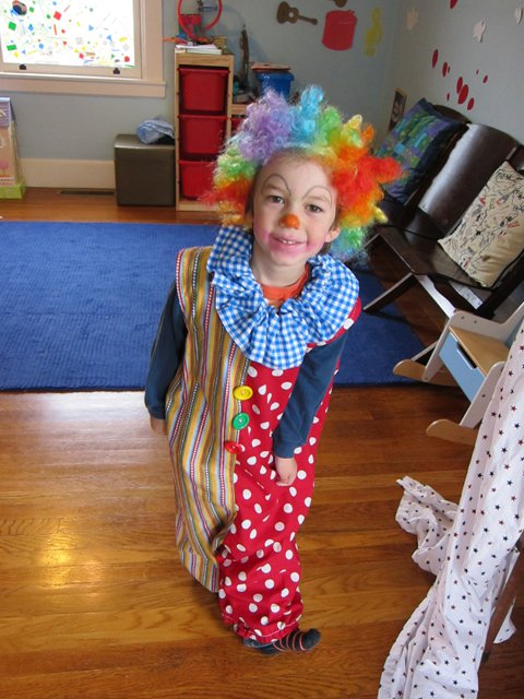 julian clown