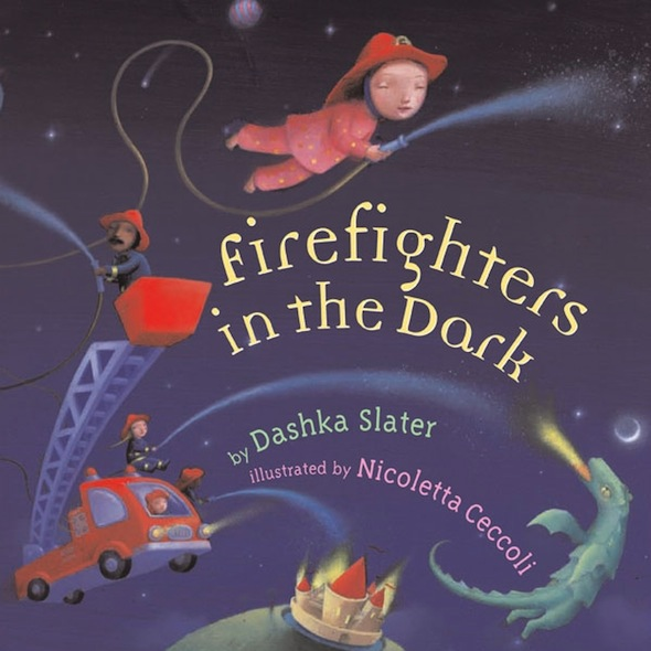 firefighters in the dark book cover