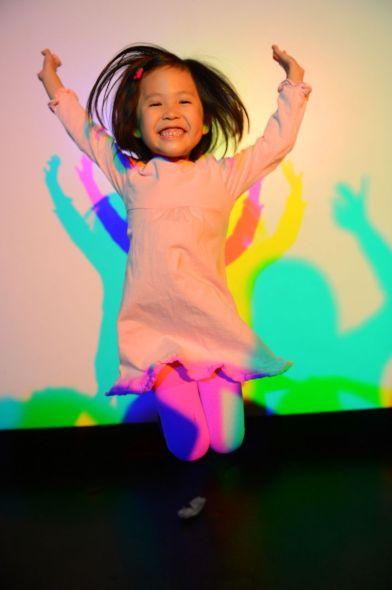 Exploratorium color shadows