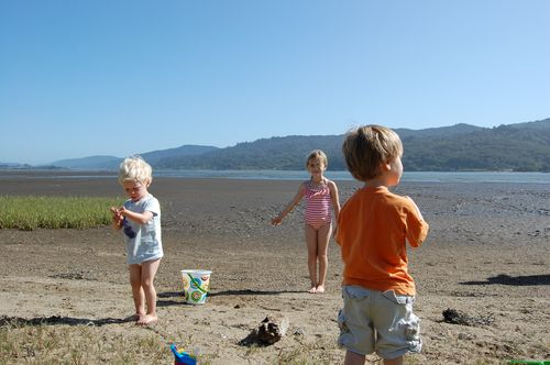 Tomales Bay with kids