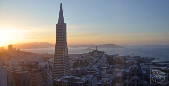 View from the Mandarin Oriental, San Francisco
