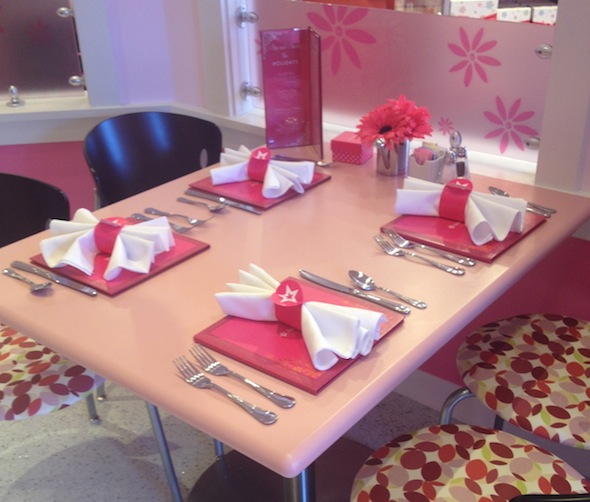 Bistro at The American Girl Store in Palo Alto