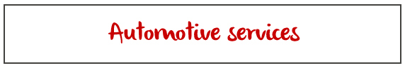 Automotive services they can do at your house